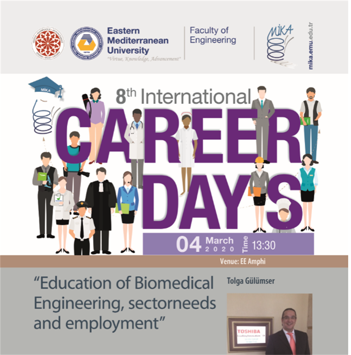 "Seminar ""Education of Biomedical Engineering, Sector needs and Employment"""